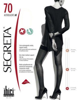 Дамски чорапи при разширени вени 7/8 70 дни Segreta от ортопедичен магазин МЕДИ СИ ПЛОВДИВ ЕООД