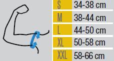 Таблица с размери на рамо от МЕДИ СИ ПЛОВДИВ ЕООД